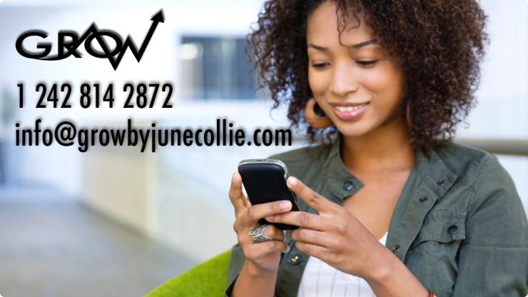 Grow Contact Page woman-smart-phone-cell-text